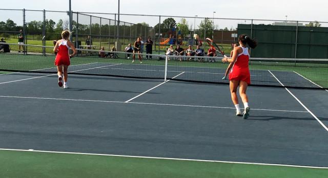 Tennis falls in sectional opener