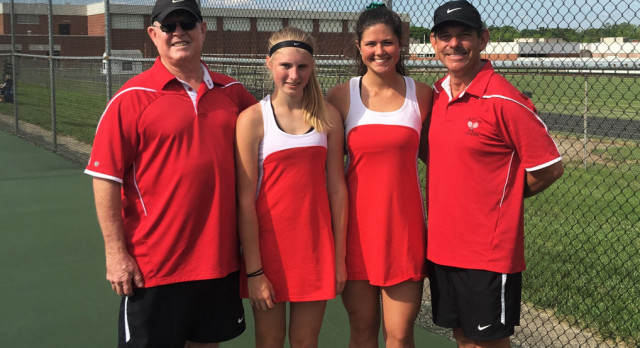 Doubles competes in IHSAA tournament