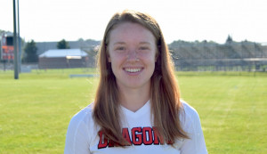 Hannah Taggart scored two goals in the Dragons' sectional semifinal victory.