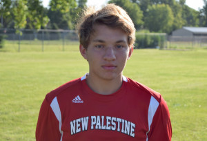 Holton Gwaltney had a goal and an assist for the Dragons on Senior Night.