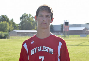 Buzz Wells scored an unassisted goal in the second half against Franklin.