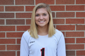 Sydney Robertson had 34 assists and 10 digs. .