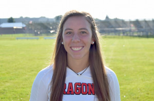 Olivia Lambdin scored the season's first goal, whiched was the game-winner in a 3-0 victory.