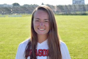Senior Olivia McKilligin tallied the second goal.