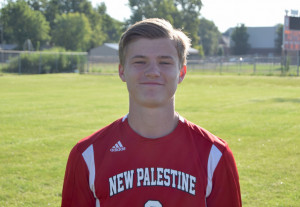 Tommy Niemier scored for the Dragons against Franklin.