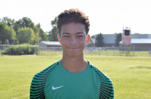 Goalkeeper Adam Hunt had the shutout for the Dragons against Center Grove.