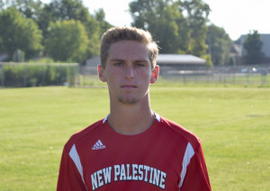 Center back Jacob Long was key in organizing the defense in a shutout of Center Grove.