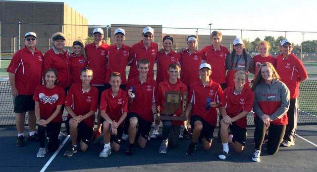 Tennis wins sixth straight sectional title