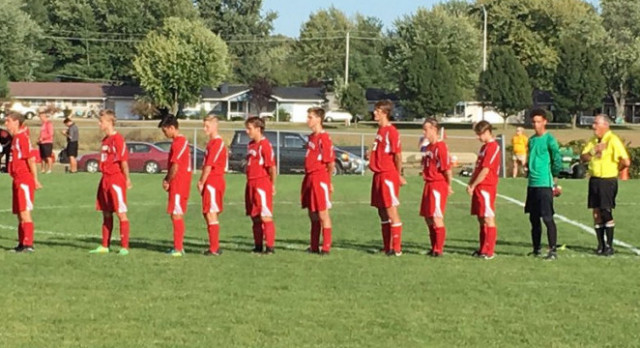 Boys soccer falls in sectional
