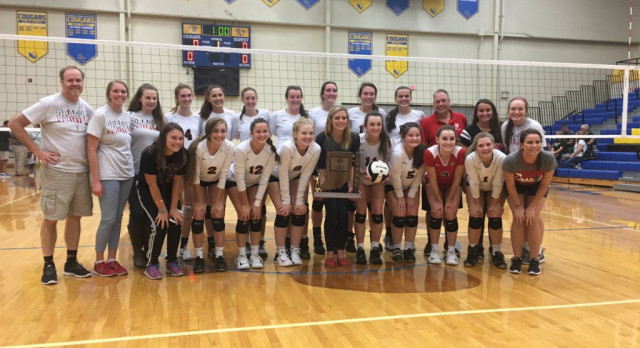 Volleyball repeats as sectional champ