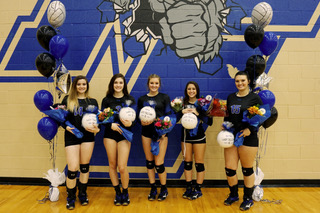 North Forney Volleyball Celebrates Seniors