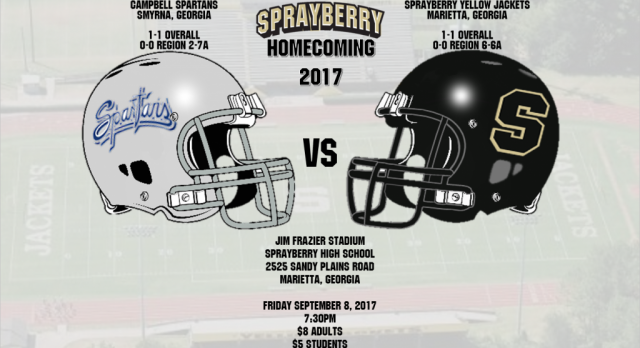 Homecoming 2017 Football Game vs Campbell