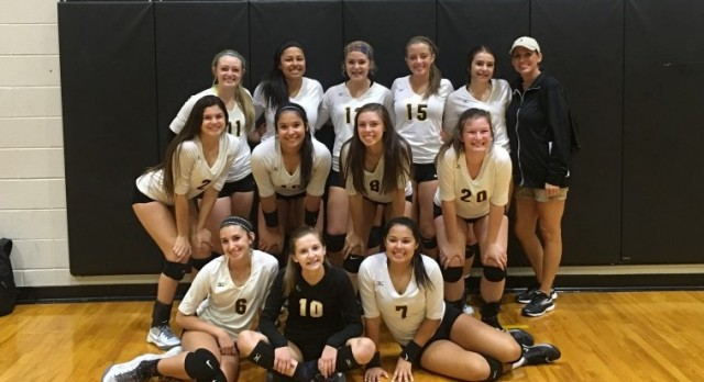 JV Volleyball Wins Crandall Tournament
