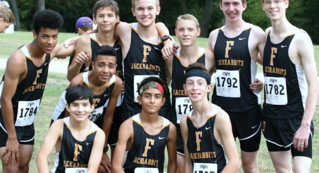 Forney XC Boys at Lovejoy