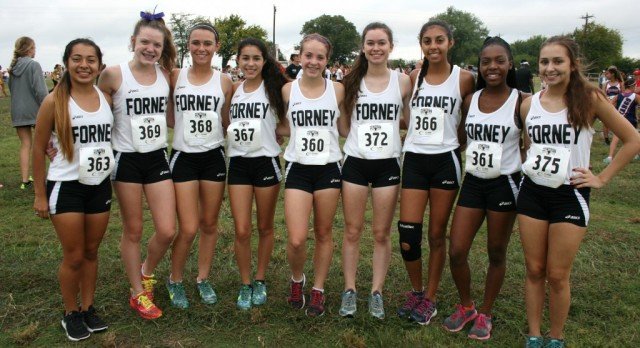 Forney XC Girls at Lovejoy