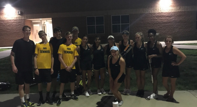 Jackrabbit Tennis Wins Season Opener