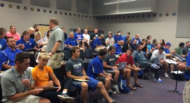 CMS/CHS Coaches Attend 3D Coaching Workshop