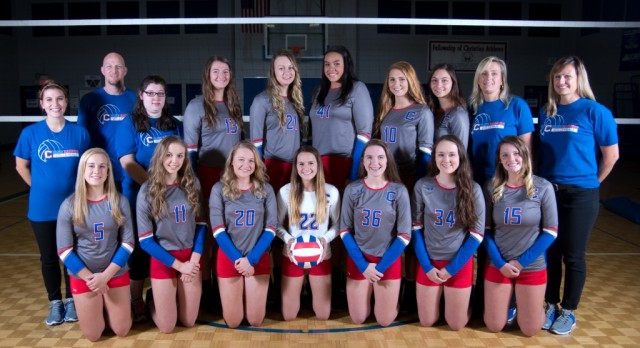 Volleyball Team going to STATE!