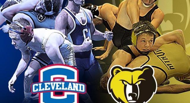 Cleveland VS Bradley Wrestling Match