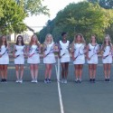 2016-2017 Girls Tennis Team