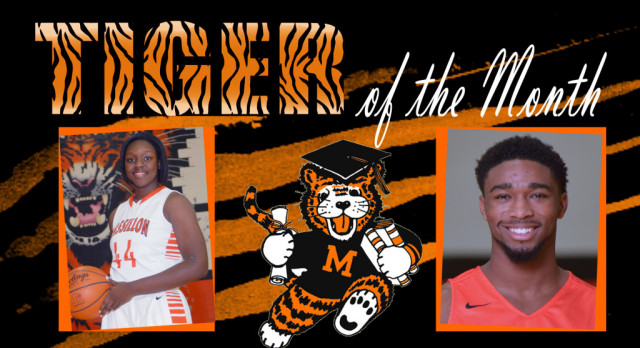 Congratulations January Tigers of the Month.