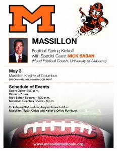 Featured Speaker: Nick Saban, Head Football Coach, University of Alabama