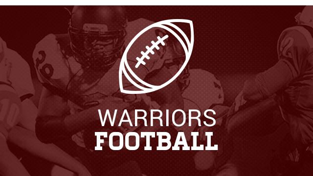 Warrior Football Player Named Academic All State