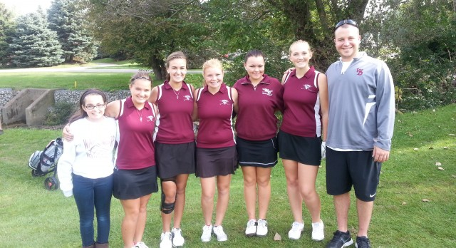 WD Girls Golf Sectional