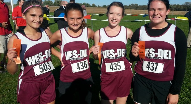 Middle School County Cross Country Meet