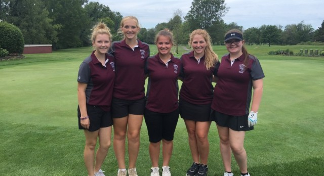 Girls Golf Team Competes in County Tournament