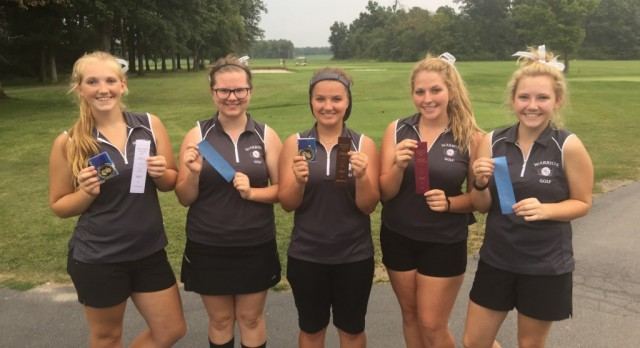 Successful Day for Girls Golf at MEC Tournament