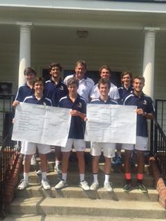 D H Conley High School Boys Varsity Tennis finishes 1st place