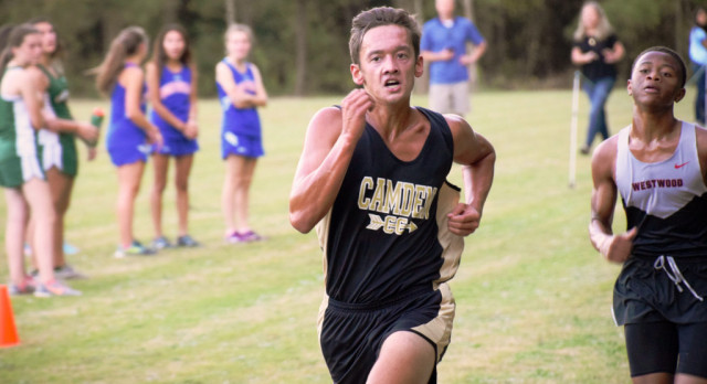 Boys' XC Team Brings Home 13 PRs