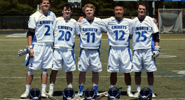 5 Knights Garner All-State Recognition