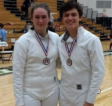 Centennial Fencers Shine at Northview