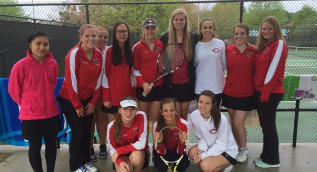 Good Luck To The Ladies Representing FCHS At Region On Tuesday