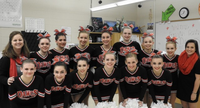 Dance Dawgs  Won 1st Place For POM Routine & 4th Place For Hip Hop.