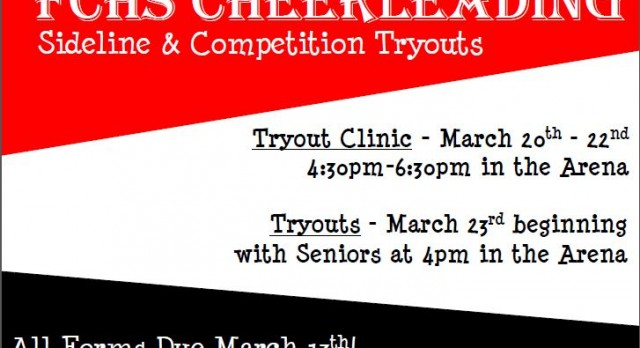 Cheer Tryouts 2017