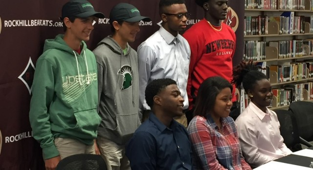 Seven Sign National Letters of Intent