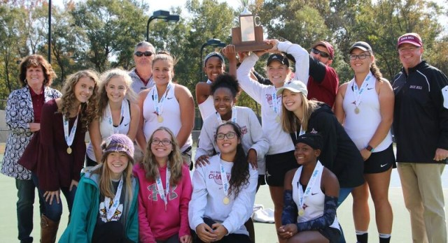 Lady Cats Tennis Bring Home the Gold