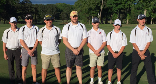 Boys Golf wins Region – Advances to Upperstate May 8th