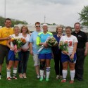 2014 Girls Soccer Senior Night