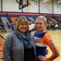 2014 Winter Cheerleading Senior Night