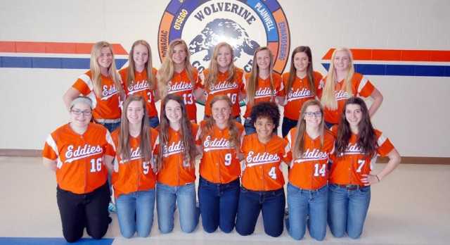 Eddies softball Wins Wolverine Conference Championship