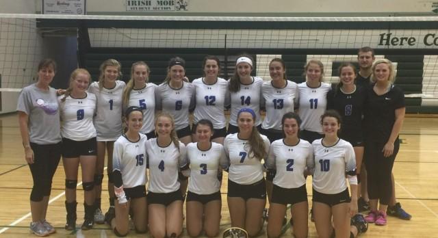 Eddies win season open volleyball tournament