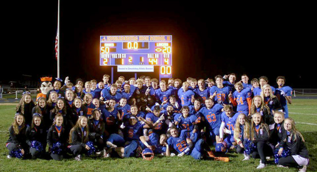 Eddies win district championship