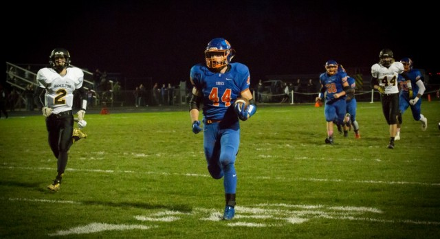 Eddies open playoffs with a 30-8 win over Hamilton