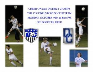 OC Boys Soccer Regional