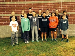 Grade School, JH and HS CC Runners 9/20/14