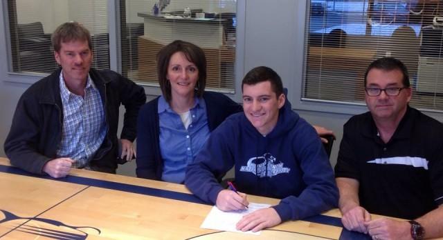 Adam Grate College Signing
